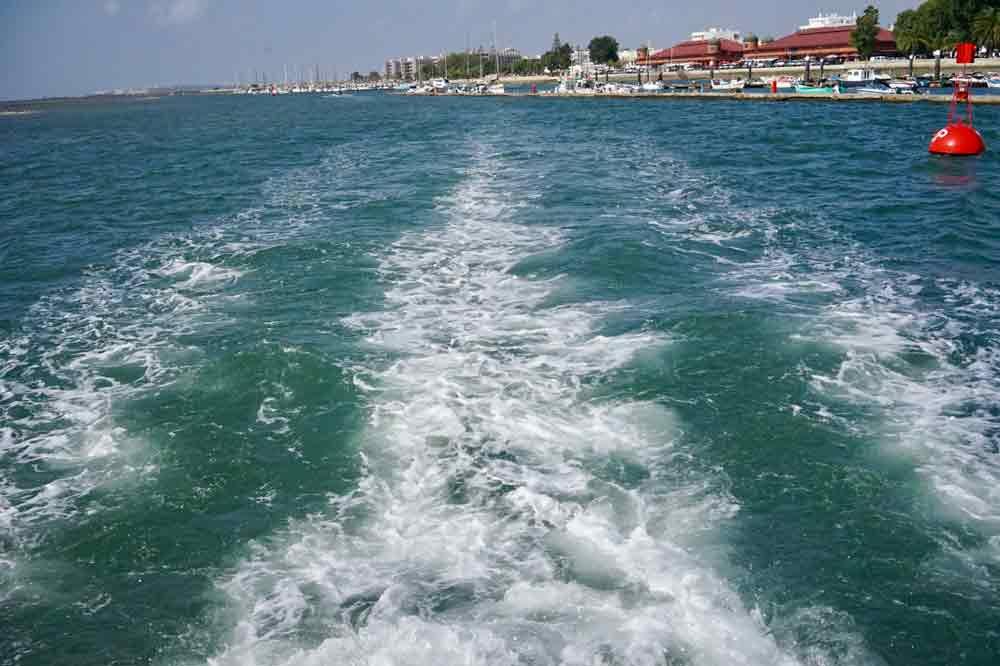 Überfahrt nach Ilha da Culatra eine Insel die keiner kennt