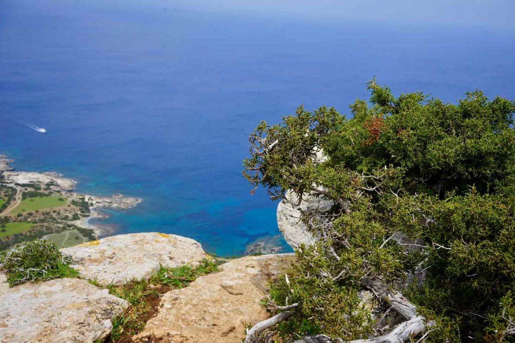 Das Landesinnere von Zypern