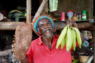 Fitre ein Rastamann auf Jamaika