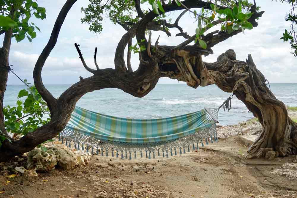 Haengematte in Jakes Hiotel Jamaika
