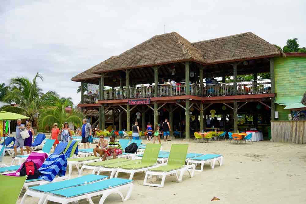 Ausflugstipp Strandbar Margaritaville 7 Mile Beach Jamiaka
