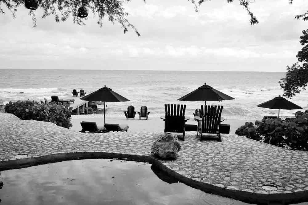 Terrasse im Jakes Hotel auf Jamaika