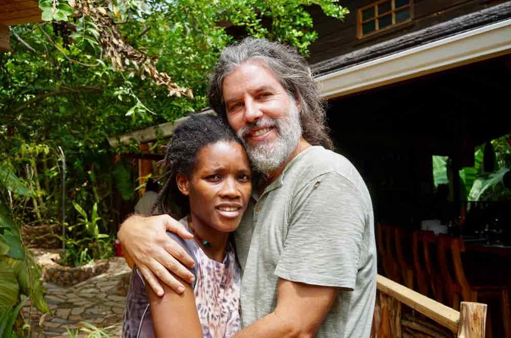 Zimbali Retreats Jamaika Mark und seine jamaikanische Frau Alecia