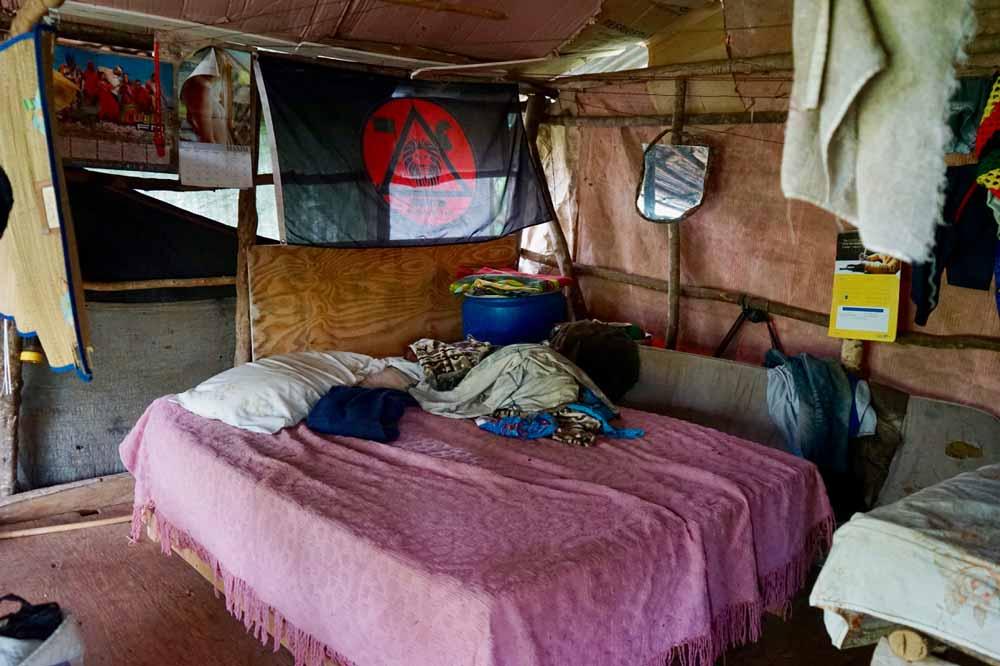 Bett von Fire Rastaman auf Jamaika