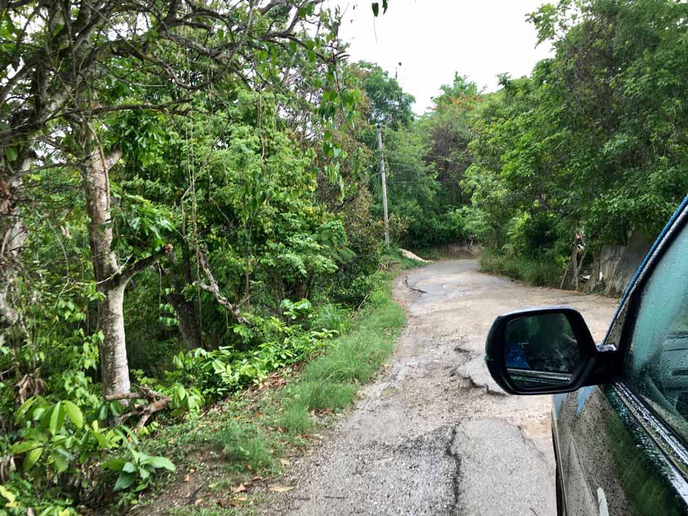 Straße auf Jamaika