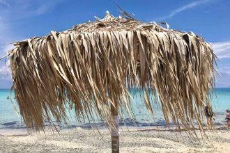 Chrissi Island die unbewohnte Insel südlich von Kreta