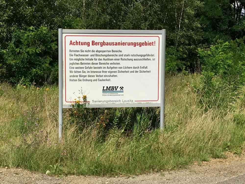 Fahrradtour durch das Lausitzer Seenland