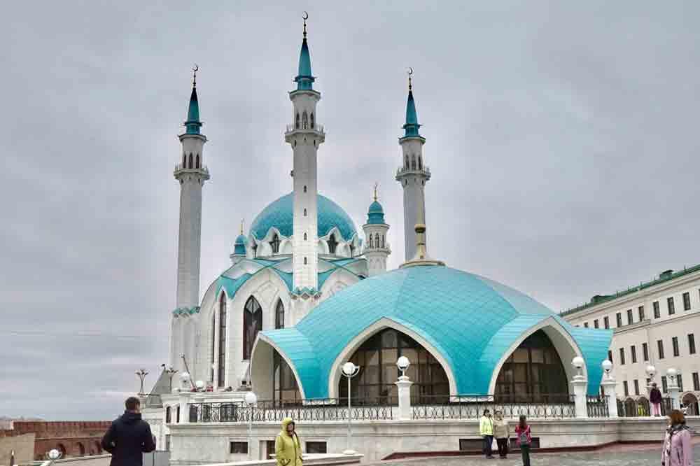 Kul Sharif Moschee Kreml Kazan