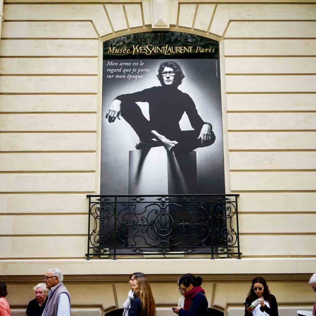 Yves Saint Laurent Museeum Paris