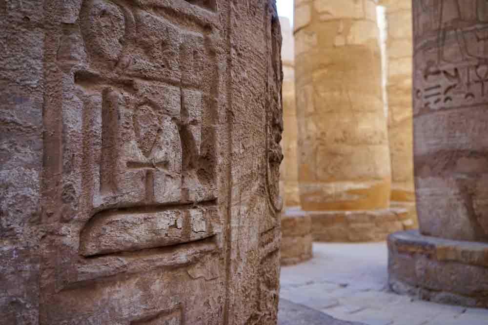 Reisetipps für Ägypten Säulen im Karnak Tempel