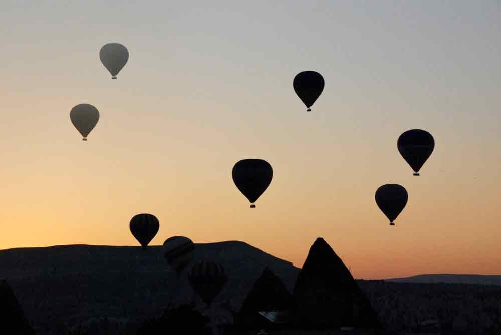Ballonfahrt Sonnenaufgang Kappadokien