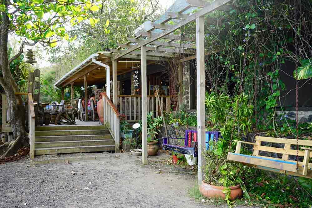 Saint Lucia Ausflugstipps Restaurant Jambe du Bois auf Pigeon Island
