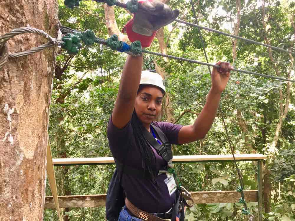 Saint Lucia Ausflugstipps Ziplining