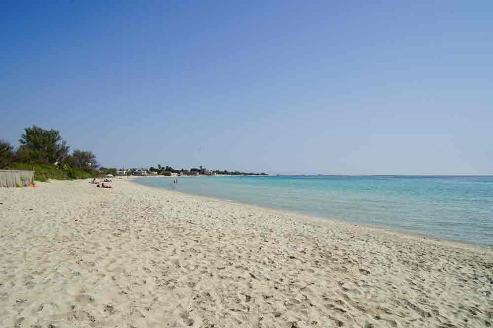 Apulien Strand in der Nähe von Porto Cesareo