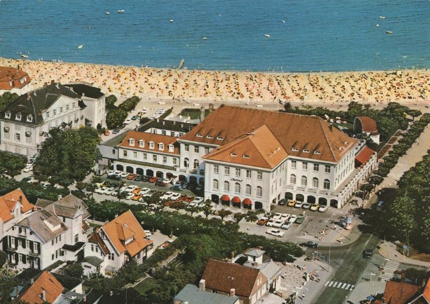 ATLANTIC Grand Hotel Luftaufnahme