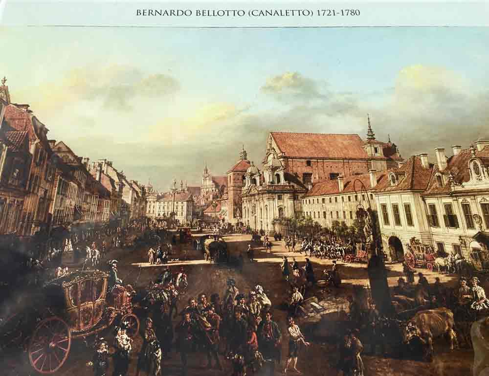 Historische Aufnahme Warschau