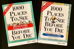1000 PLACES TO SEE BEFORE YOU DIE. Die Buchverlosung im Oktober.