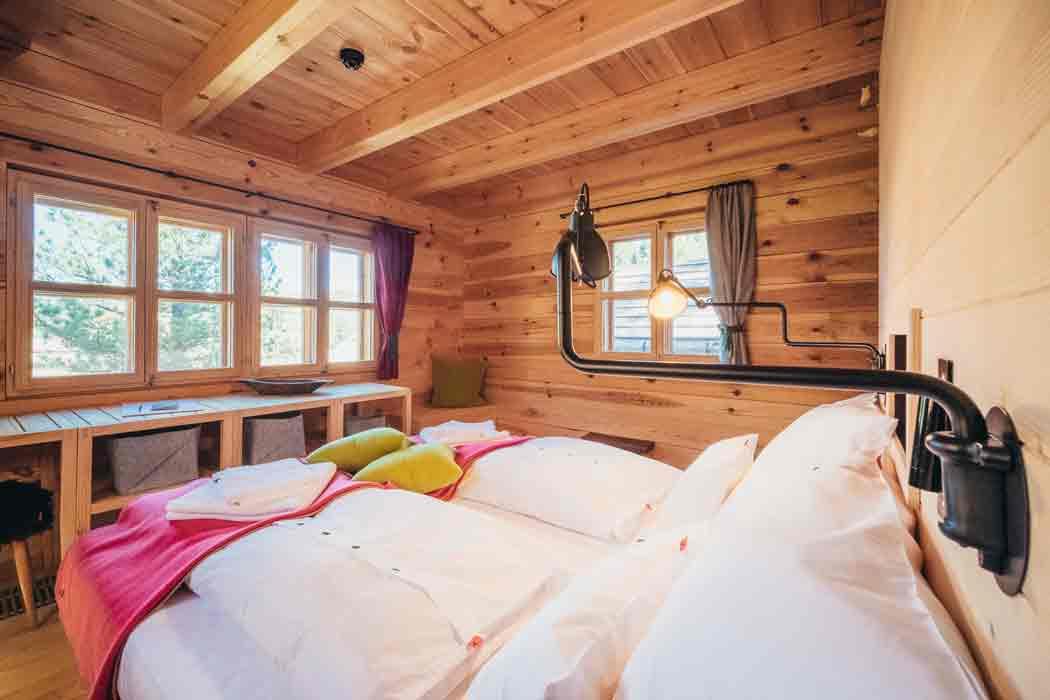 Hollmann am Berg Ferienhütte Schlafzimmer