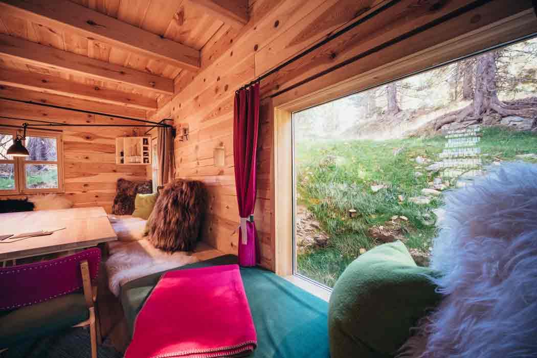 die schönsten Ferienhütten auf der Turracher Höhemit Ausblick