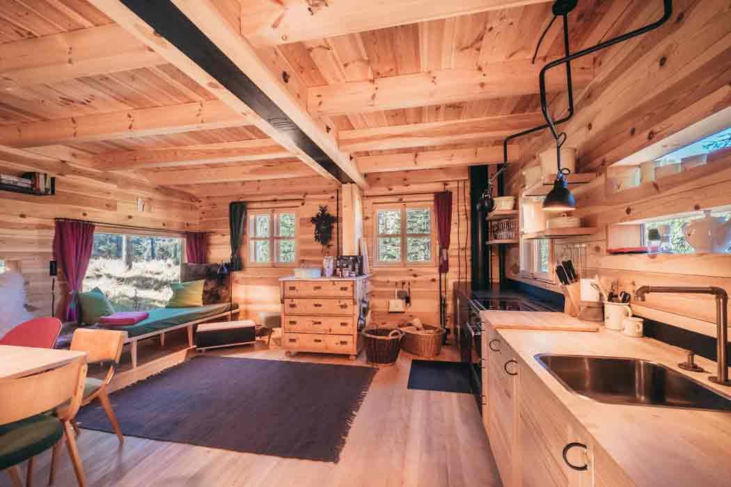 Inneneinrichtung die schönsten Ferienhütten auf der Turracher Höhe