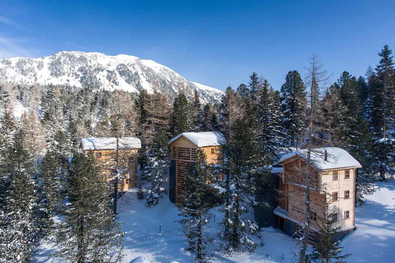die schönsten Ferienhütten auf der Turracher Höhe