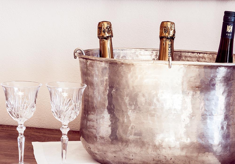 Champagner Ferienhaus KitzLein