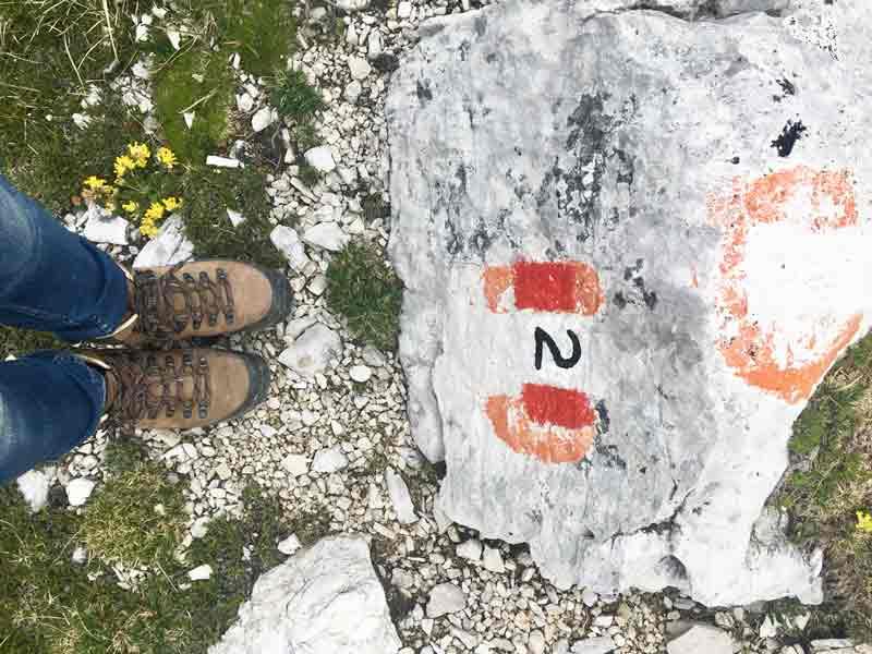 der Dolomiten hoehenweg nr 2
