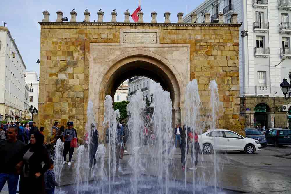 Bab el Bahr französisches Tor Tunis