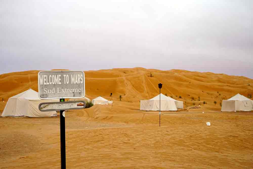Camp Mars Wüstencamp in Tunesien