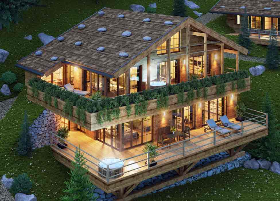 Luxus Chalets in Südtirol