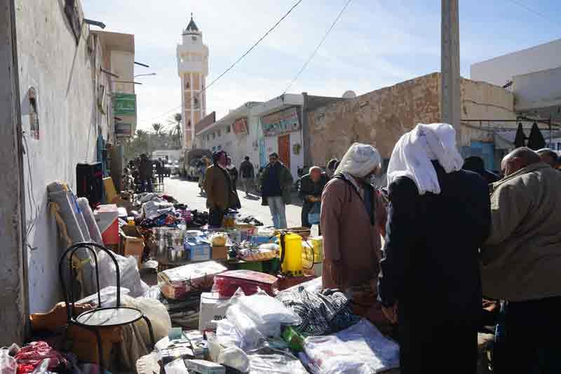 markttag in Douz Tunesien