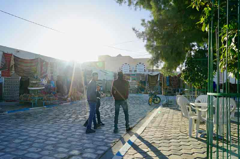 Sahara-festival-morgens-in-Douz-Tunesien