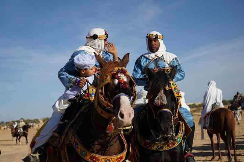 Sahara Festival Douz stolze Nomaden