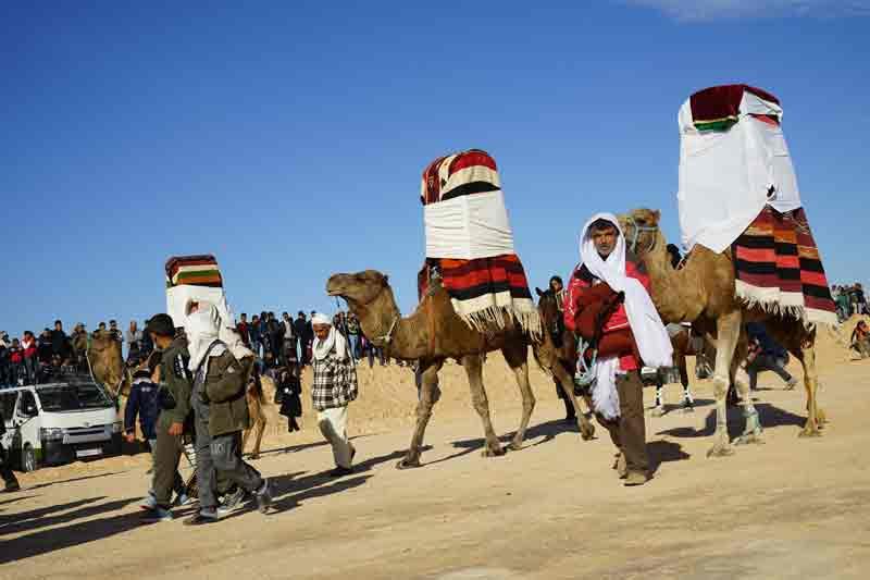 Sahara Festival Douz Heiratszeremonie