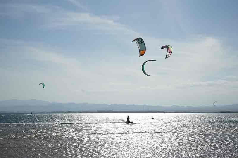 Reisetipps für Ägypten Kiten in Soma Bay