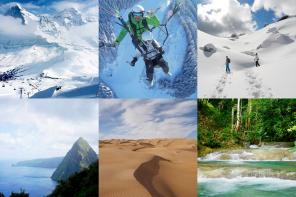 6 Top-Reiseziele für den Winter. Lieber kalt oder schön warm?
