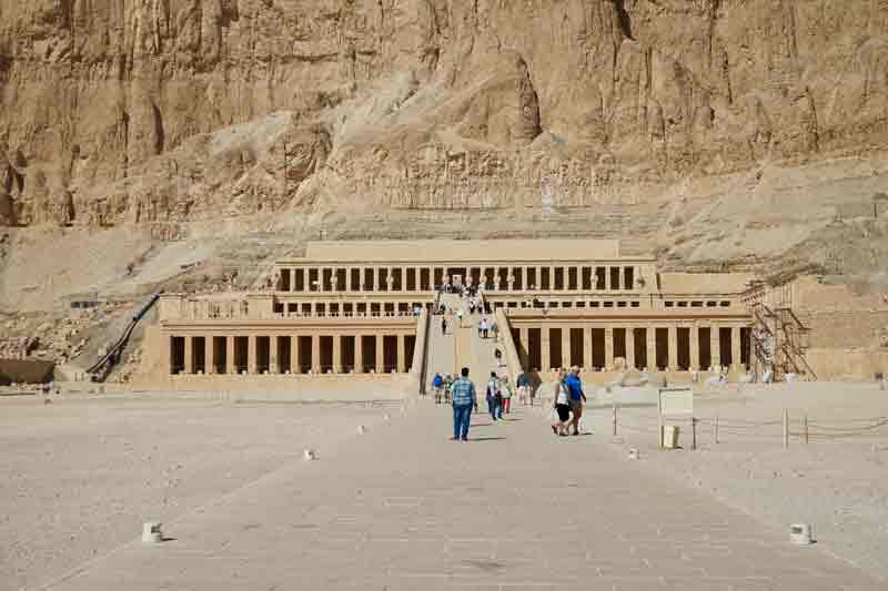 Reisetipps für Ägyptender Tempel der Hatschepsut