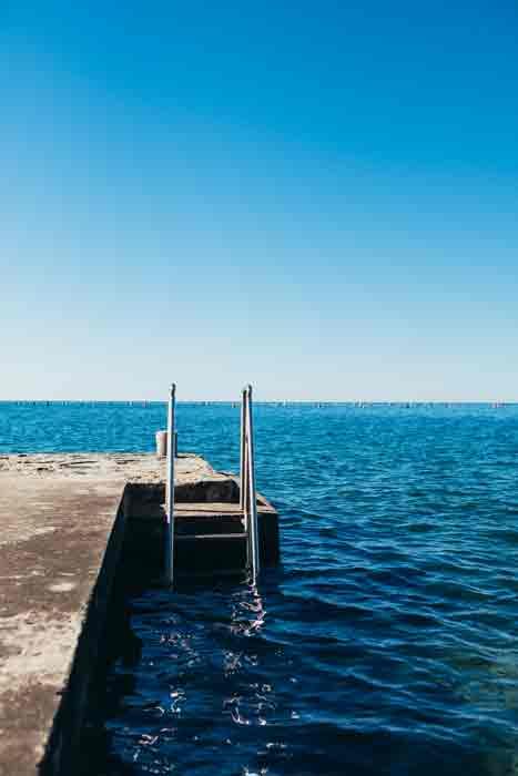 Hollmann am Meer Trieste Badesteg