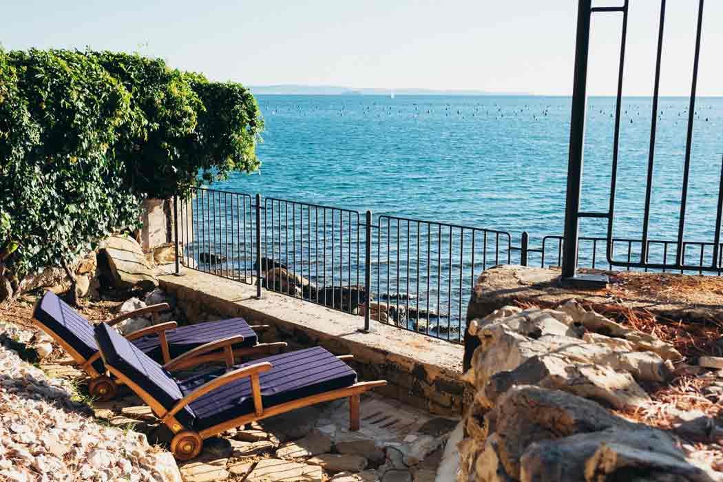 Hollmann am Meer Trieste Terrasse mit Meeerblick