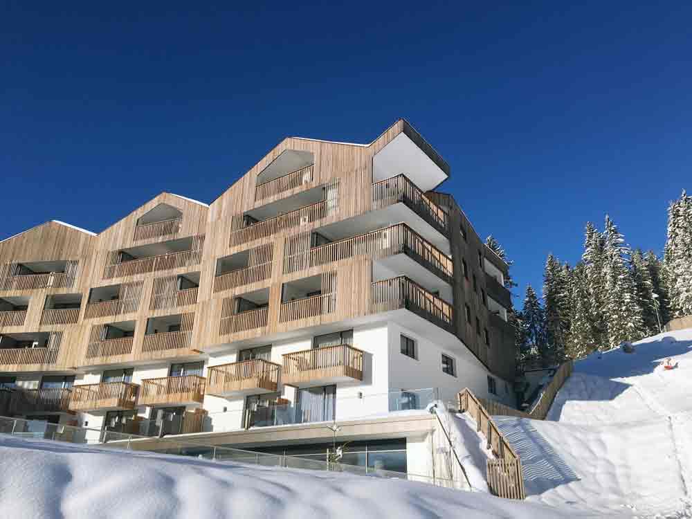 Hotel Cristal Skigebiet Obereggen in Südtirol