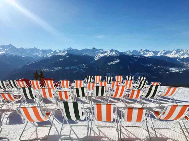 Skifahren lernen in drei Tagen skigebiet Crans Montana