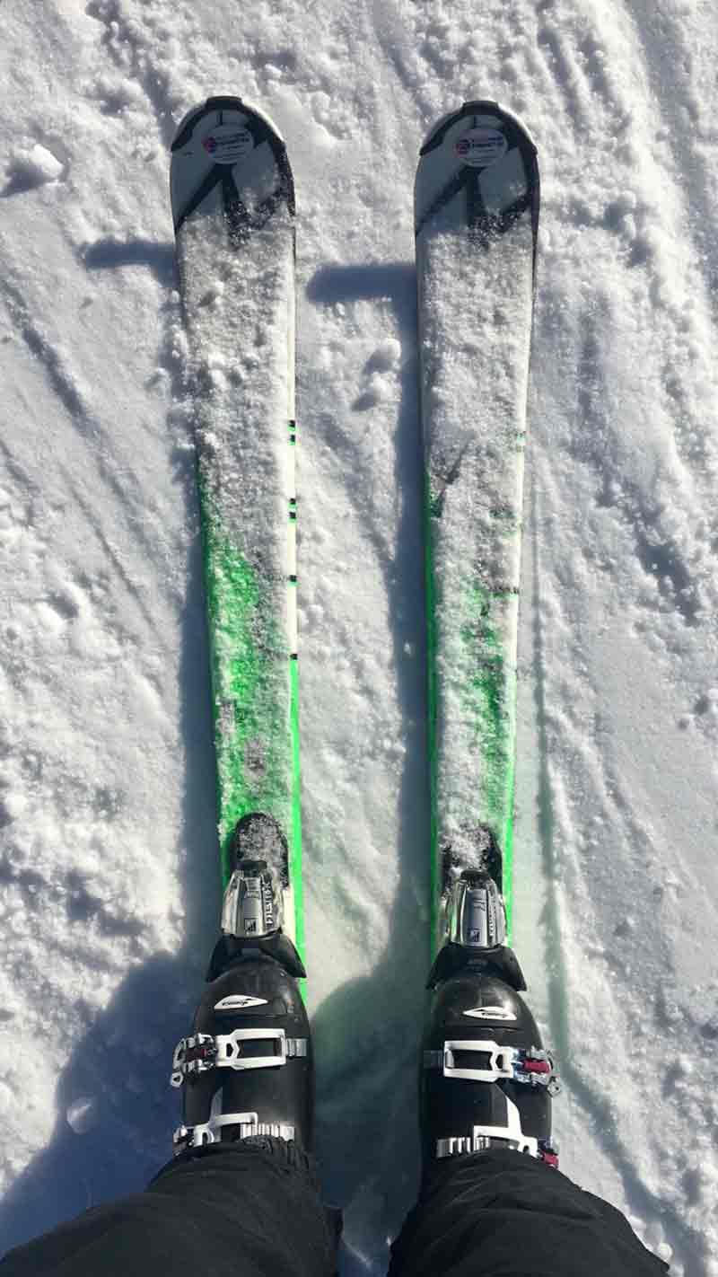 Skifahren lernen in drei Tagen