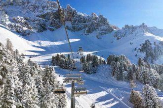 Skigebiet Obereggen in Südtirol
