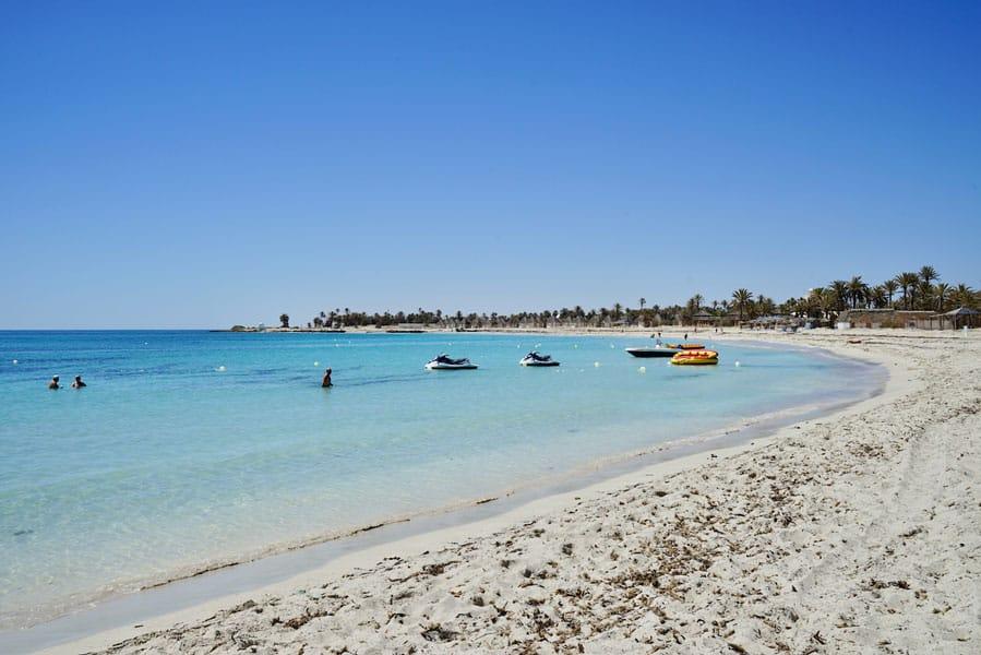Blaue Lagune schönster Strand auf Djerba