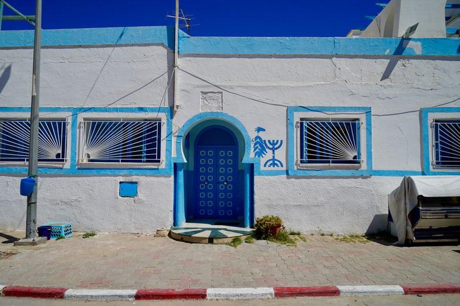 Ausflug auf Djerba nach Erriadh juedisches Haus