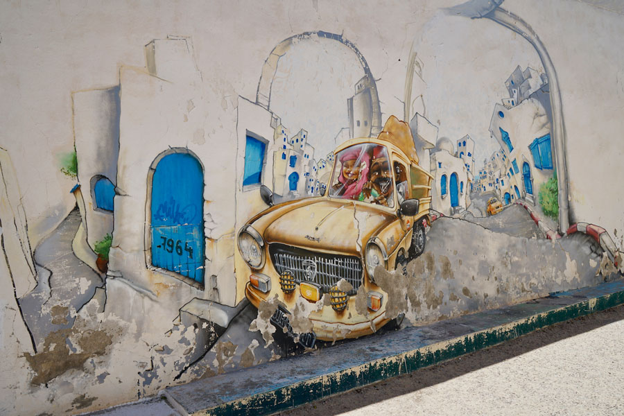 Street Art Djerbahood Erriadh Djerba Tunesien