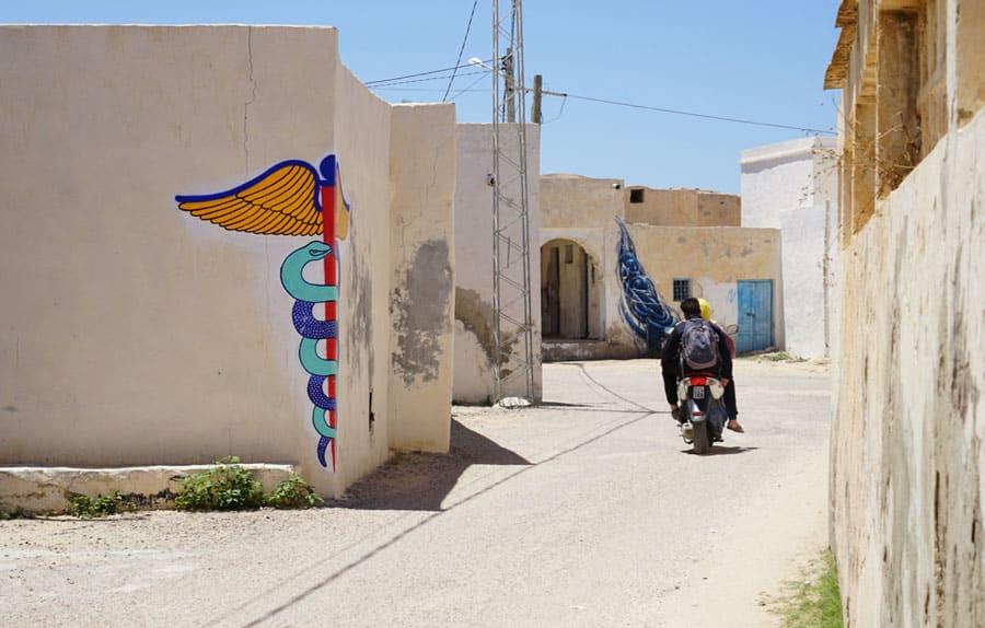 Djerbahood in Erriadh Djerba Tunesien