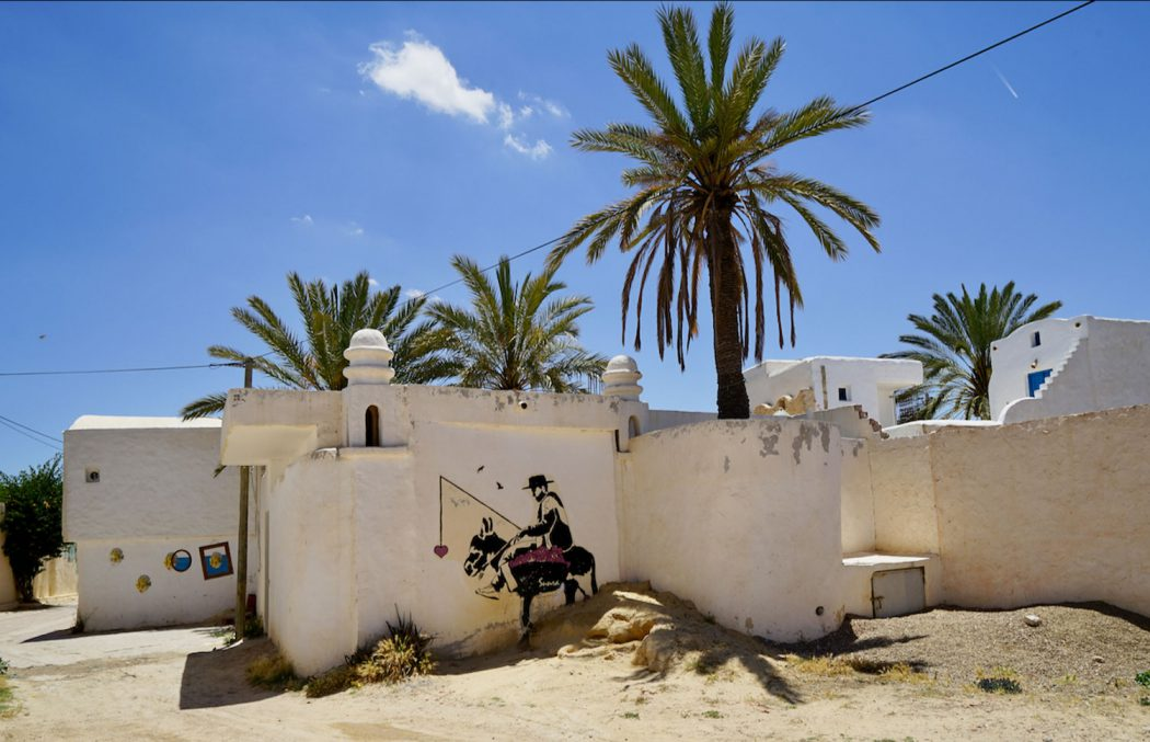 SUN Ra Street Artist Djerbahood Erriadh Djerba Tunesien