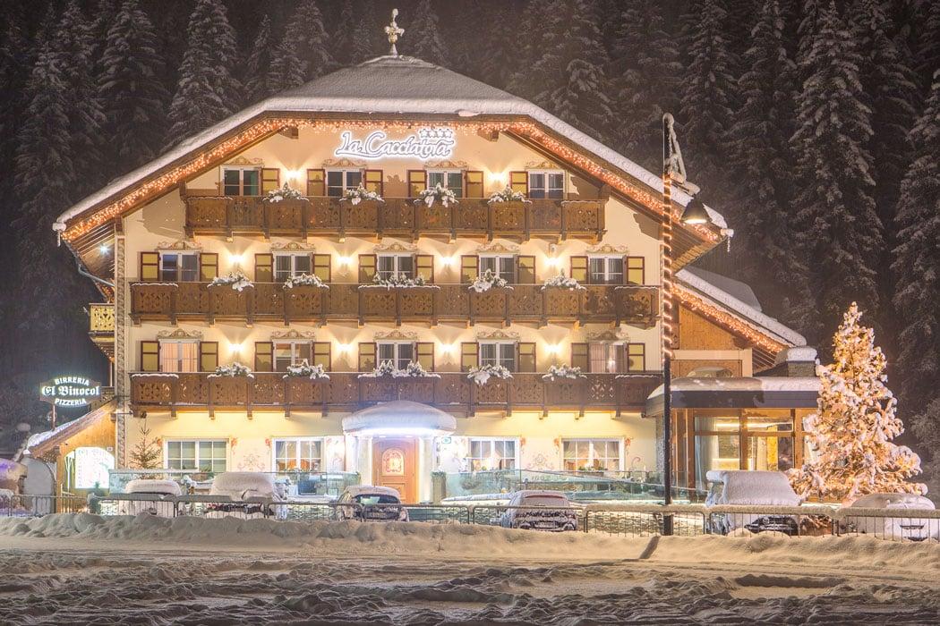 Hotel-La-cacciatora-im-Winter