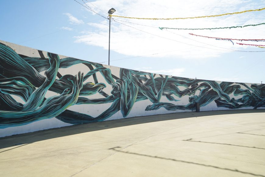 Roadtrip Portugal Street Art in Figueira da foz